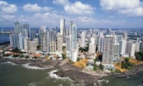 Panama City is a financial and money laundering hub