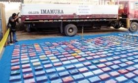 Cocaine seized in Bolivia