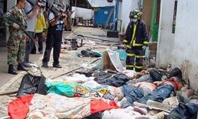 The aftermath of the April 2003 violence at El Porvenir