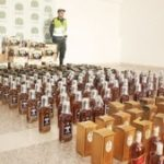 Contraband liquor seized in Colombia