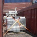 The liquid cocaine seizure in the Mexican port of Progreso.