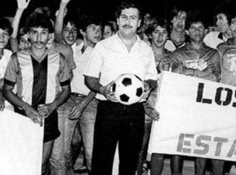 Pablo Escobar was closely tied to his favorite team