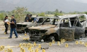 Results of a Zetas-provoked gun battle in Zacapa (2008)