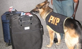 The Jorge Chavez airport is a key cocaine departure point
