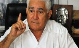 Former guerrilla leader Eden Pastora