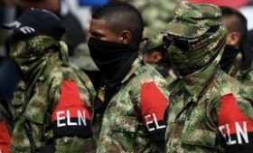 ELN guerrilla fighters