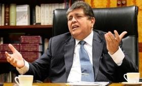Former Peruvian President Alan Garcia