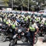Members of the Intelligent Patrolling program in Caracas
