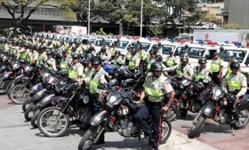 Members of the Intelligent Patrolling program in Caracas
