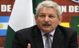 Santa Cruz Governor Ruben Costas