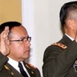 Salinas and Benitez are sworn in to the Defense Ministry