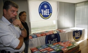 Half ton of cocaine seized in Greek port Piraeus