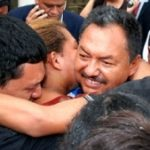 Chepe Luna is welcomed by family in 2012