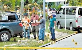 The site of the San Pedro Sula massacre