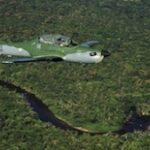 Brazilian patrol over Amazon