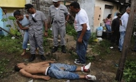 A victim of police killings in the Dominican Republic
