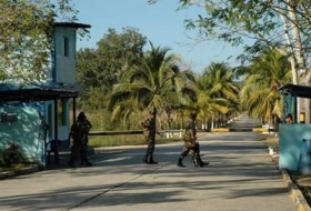 The entrance to the Peten Aerial Command
