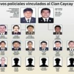 Police officials linked to the Caycay clan