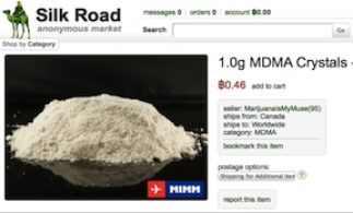 Online black market drug listing from the now defunct Silk Road