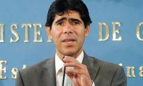 Bolivian Interior Minister Jorge Perez