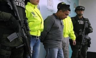 An alleged go-between for the Sinaloa Cartel and Colombian groups