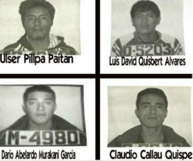 The inmates who escaped from San Pedro prison