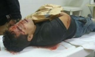 The alleged body of Heriberto Lazcano