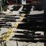 Weapons seized in El Salvador