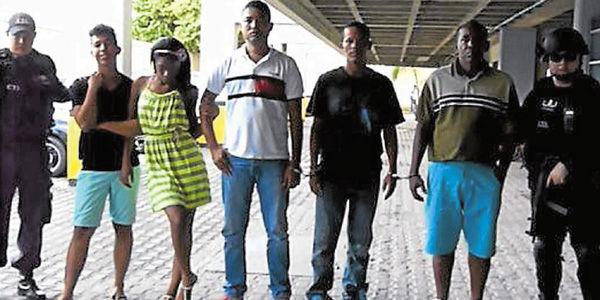 The individuals captured in Cartagena