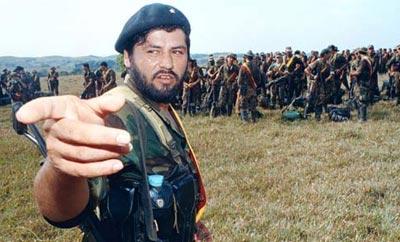 FARC Eastern Bloc leader Henry Castellanos
