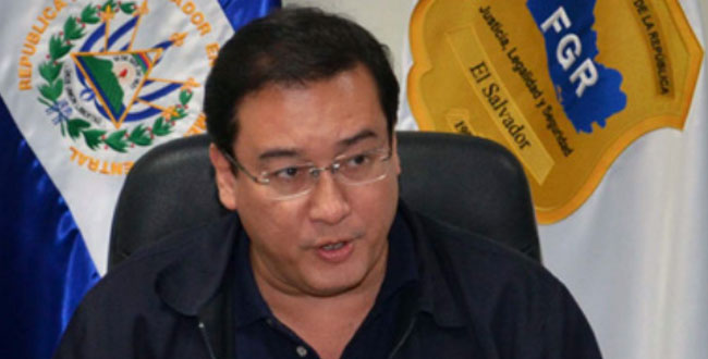 Salvadoran Attorney General Luis Martinez