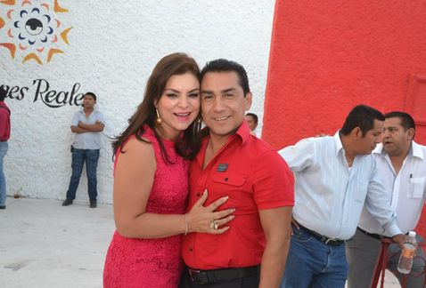 Iguala mayor Jose Luis Abarca Velazquez and his wife, Maria de los Angeles Pineda Villa