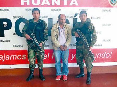 Alleged Peru drug trafficker Filemon Huillcayaure
