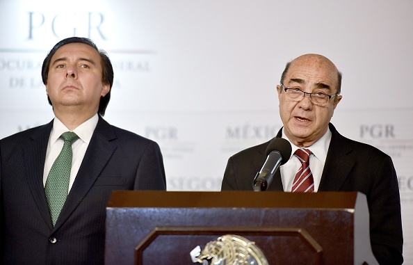 Mexico's Attorney General Jesus Murillo Karam