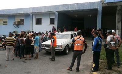 The Zulia morgue the victims were brought to