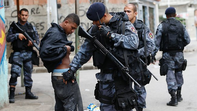 Brazilian police are known for their brutality
