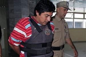 Peruvian trafficker Marcos Estrada, captured in Argentina