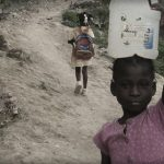 A domestic servant in Haiti