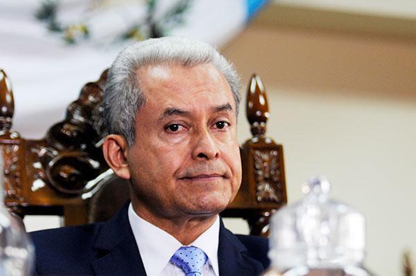 Constitutional Court judge Hector Hugo Perez