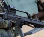A German Heckler & Koch G36 assault rifle