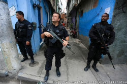 Police violence is reportedly on the rise in Rio