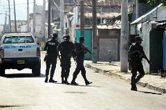 West Kingston, one of Jamaica's violence hotspots
