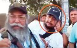 Alleged Viagras spokesman Nicolas Sierra (circled)