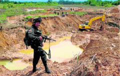 Is illegal gold mining in Colombia set to decline?