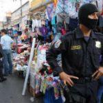 Members of El Salvador's Police