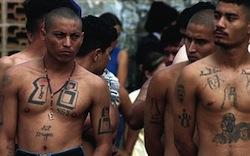 Barrio 18 members in Honduras