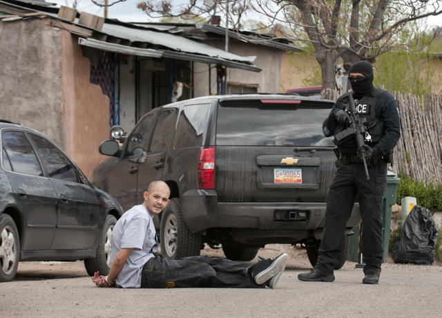 A man arrested for heroin distribution in New Mexico