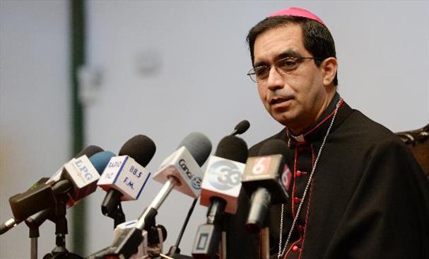 El Salvador Archbishop Jose Luis Escobar Alas