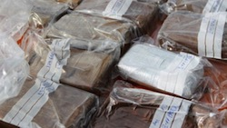 Police in Spain seized 346kg of cocaine