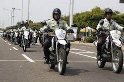 Maracaibo's police force